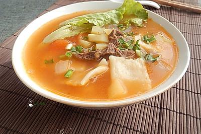 新疆汤饭——冬季暖身