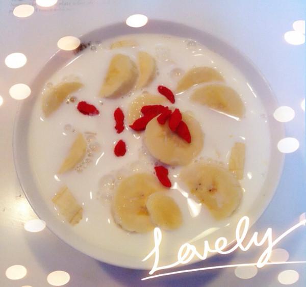 香蕉牛奶沙拉的做法