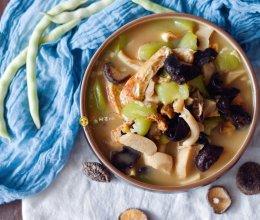 素食记—丝瓜菌菇炖的做法
