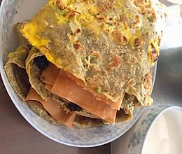#味达美名厨福气汁,新春添口福#煎饼果子的做法