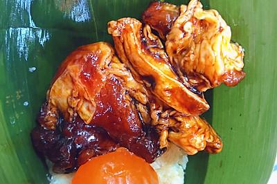 生酮蛋黄肉粽