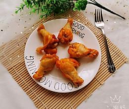 #今天吃什么#奥尔良烤鸡翅根的做法