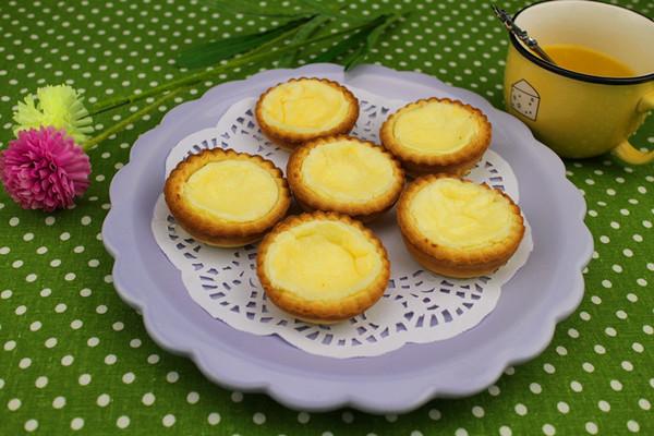 芝士奶油蛋挞的做法
