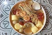 海鲜豆腐的做法