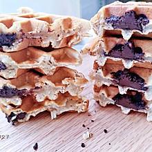 #肉食者聯盟#德芙巧克力華夫餅#麥子廚房早餐機#