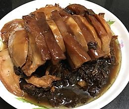 梅菜扣肉(夹芋头)的做法