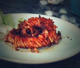辣烤章鱼足的做法