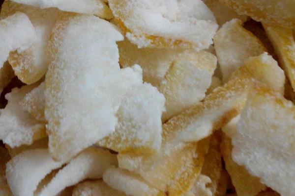 柚子糖的做法