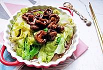 拌生菜 香菇生菜。的做法