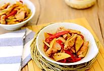 湘菜-酸萝卜炒猪肚(肚尖)-让猪肚爽脆的秘诀的做法