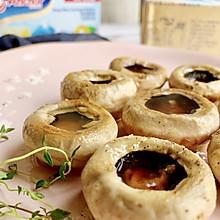 鲜美的黄油煎口蘑 只要5分钟