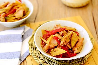 湘菜-酸萝卜炒猪肚(肚尖)-让猪肚爽脆的秘诀
