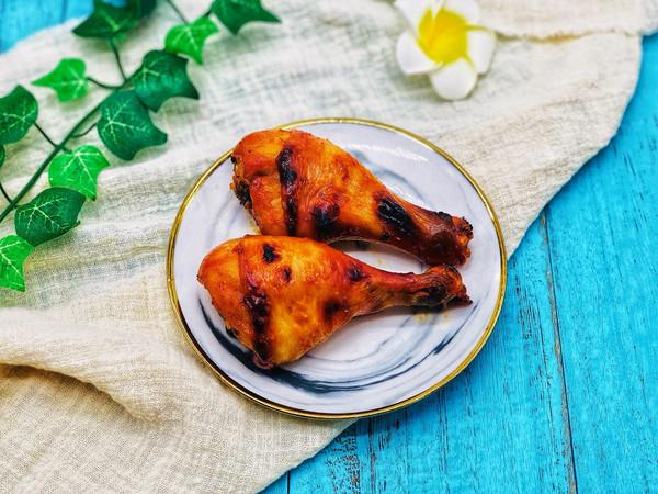#肉食者联盟#简单粗暴烤鸡腿的做法