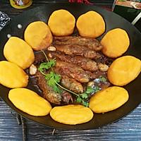 铁锅炖黄鱼贴饼子#新年新招乐过年#的做法图解15