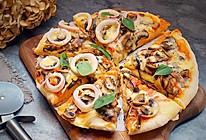 海陆双拼披萨#一机多能,一席饪选#的做法