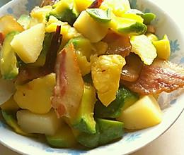 生焖姜饼瓜的做法