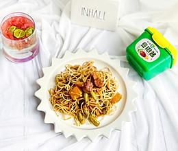 #一勺葱伴侣,成就招牌美味#酱香豆角焖面的做法