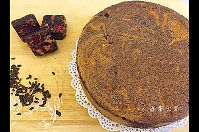 无油玫瑰红糖大理石蛋糕#烘焙梦想家(华北赛区)#