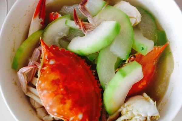 鲜味十足蟹冬瓜的做法