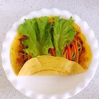 详解蔬菜鸡蛋卷饼的做法图解16
