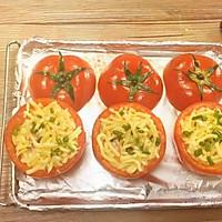 「膳***  焗烤番茄蛋」的做法图解6