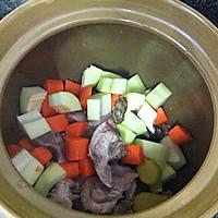 猪尾骨蚝干木瓜汤的做法图解5
