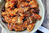 炎热夏季必不可少的下酒菜--韩式甜酸香酥脆炸鸡的做法