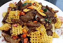 大喜大牛肉粉试用之锅巴脆猪柳的做法