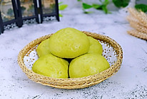 翡翠豆沙包#520,美食撩动TA的心!#的做法