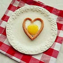 爱心香肠煎蛋