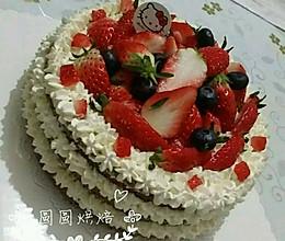 8寸裸蛋糕的做法