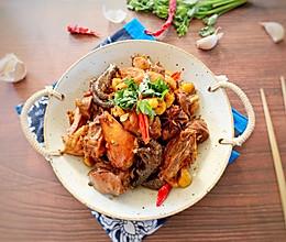 #晒出你的团圆大餐#栗子炒鸡的做法
