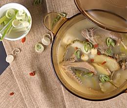 石斛老鸭汤的做法