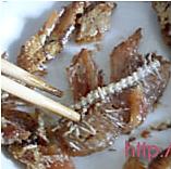 豆豉鲮鱼油麦菜的做法图解2