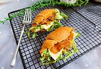 牛角包三明治#硬核菜谱制作人#的做法