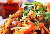 初雪没吃上炸鸡,那就打碗米饭,来一盘最炫川香辣鸡柳的做法