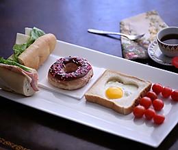 情人节爱心LOVE早餐的做法