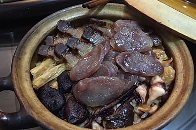 腊味砂锅饭