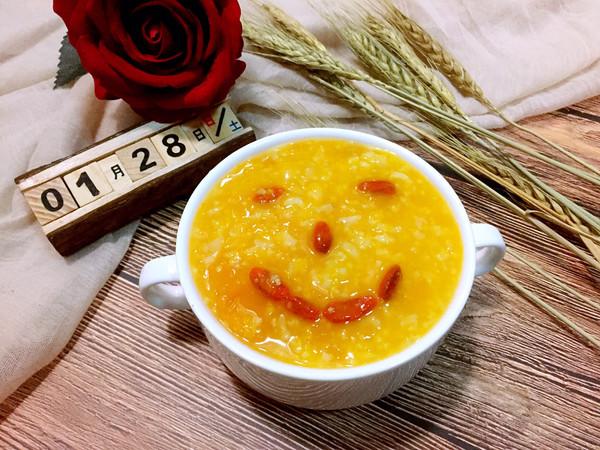 糯米南瓜养胃粥的做法
