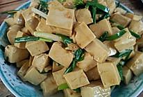 简易炒豆腐的做法