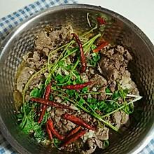 肥牛金针菇酸菜