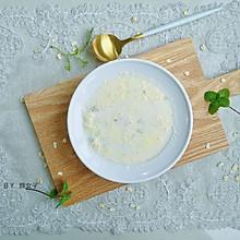 #洗手作羹汤#鸡蛋牛奶燕麦粥