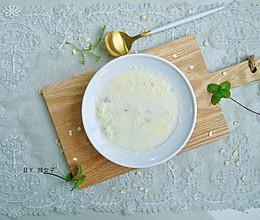 #洗手作羹汤#鸡蛋牛奶燕麦粥的做法