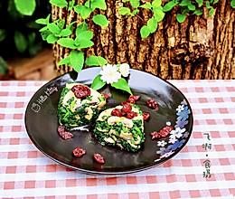 """#""""莓""""好春光日志#蔓越莓拌蘑菇片蓬好菜的做法"""