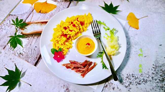 #秋天怎么吃#粗粮酱拌螺旋意面的做法