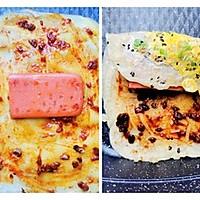 快手早餐——十分钟懒人鸡蛋煎饼的做法图解7