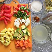 蔬菜蒸粗麦粉--塔吉锅菜谱的做法图解3