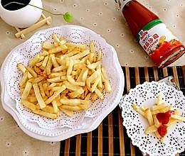 轻松炸薯条(空气炸锅详细步骤版)的做法