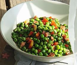肉丁焖青豆的做法