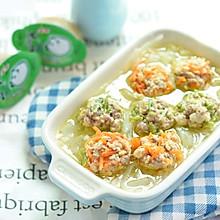三色豆腐丸子萝卜汤